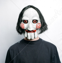 Saw puppet vinyl mask