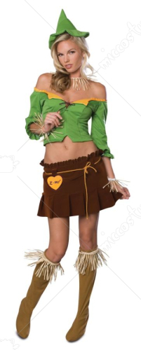 The Wizard of Oz-Scarecrow Adult Secret Wish Costume
