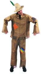Scarecrow Costume One Size Adult Costume