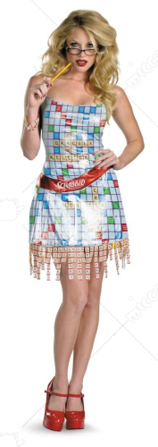 Scrabble Deluxe Female Costume