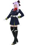 Seraph of the End Shinoa Hiragi Cosplay Costume