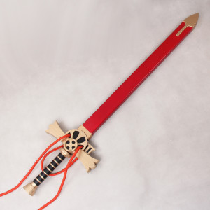 Seraph of the End Mikaela Hyakuya Cosplay Red Sword and Scabbard