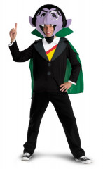 Sesame Street Count Adult Costume