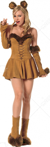 Sexy Cuddly Lion Adult Costume