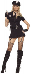 Sexy Dirty Cop 6pc Adult Costume