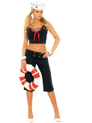 Sexy First Mate Adult Costume