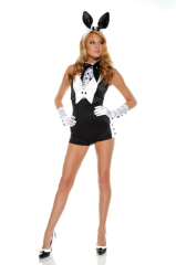 Sexy Plush Bunny Adult Costume