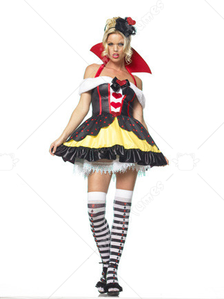 Sexy Queen Of Hearts Sexy Costume