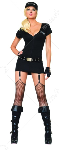 Sexy SWAT Commander Adult Costume