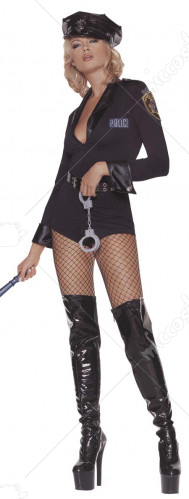Sexy Sergeant Cop Adult Costume