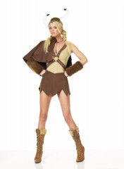 Sexy Viking Girl Adult Costume