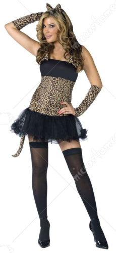 Sexy Wild Cat Adult Costume
