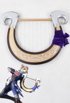 The Legend of Zelda Sheik Cosplay Harp