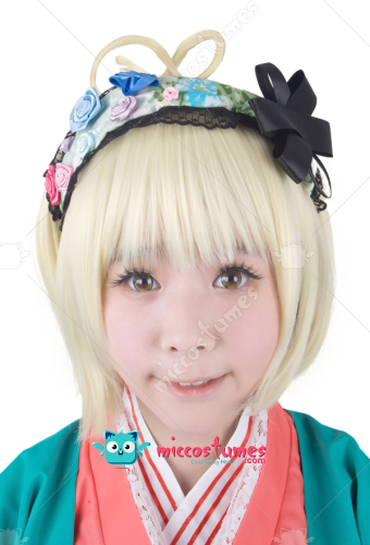 Blue Exorcist Moriyama Shiemi Cosplay Wig