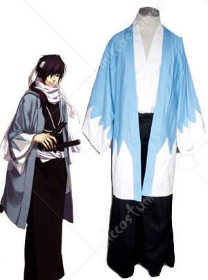 Shinsengumi Sky Blue Cosplay Costume