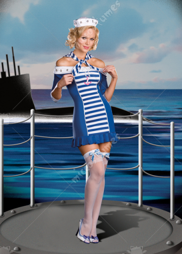 Ship Shape Sweetie Adult Costume