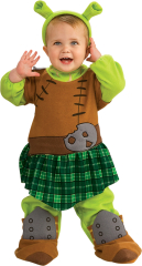 Shrek 4 Flona Warrior Toddler Costume
