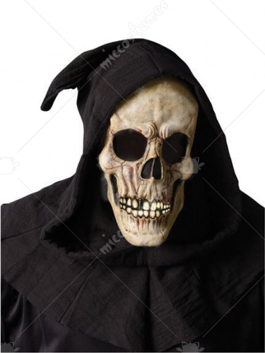 Shroud Skull Mask Closed Mouth