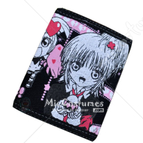 Shugo Chara Bifold Canvas Wallet