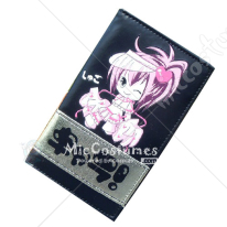 Shugo Chara Bifold Long Wallet Black