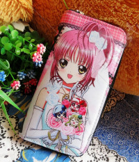 Shugo Chara Long Wallet Pink