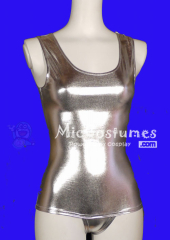 Silver Japanese School Swimsuit Gym Suit
