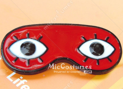 Silver Soul Eyeshade Badge