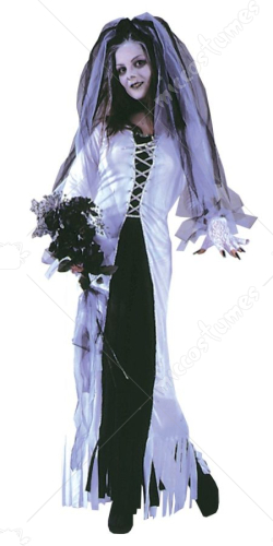 Skeleton Bride Costume