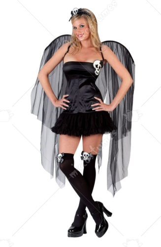 Skull Fairy Adult Costume