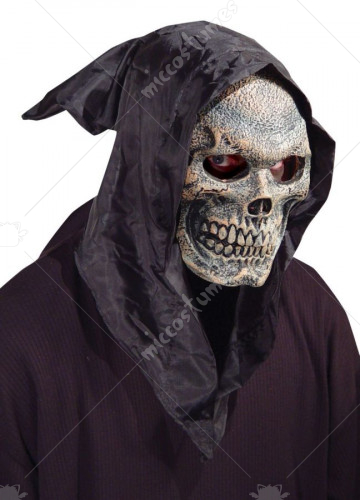 Skull Hooded Flexi Face