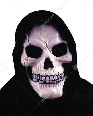 Skull with Shroud Mask