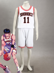 Slam Dunk Rukawa Kaede Version 2 Cosplay Costume