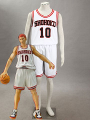 Slam Dunk Sakuragi Hanamichi Version 2 Cosplay Costume