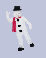 Snowman Adult Complete Mascot