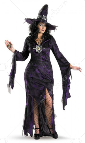 Sorceress Womens Adult Plus Costume