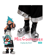Soul Eater Black Star Cosplay Shoes