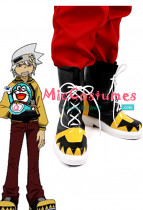 Soul Eater Soul Evans Cosplay Shoes Boots