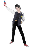Space Dandy Cosplay Coat Men M