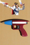 Space Dandy Cosplay Toy Gun