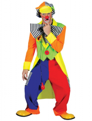Spanky Stripes Adult Clown Large