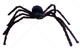 Spider 57in Hairy Poseable