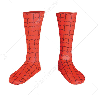 Spider Man Deluxe Boot Covers