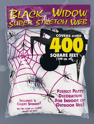 Spider Web 120 Gr White