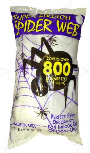Spider Web White 8.4 Oz