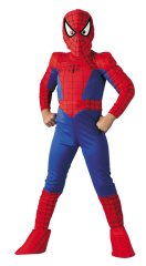 Spiderman Child Deluxe Comic Costume