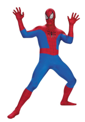 Spiderman Deluxe Rental Quality Adult Costume