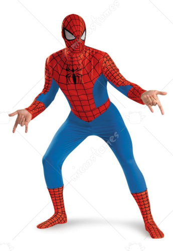 Spiderman Standard XL Adult Costume