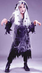 Spiderweb Gauze Ghost Child Costume