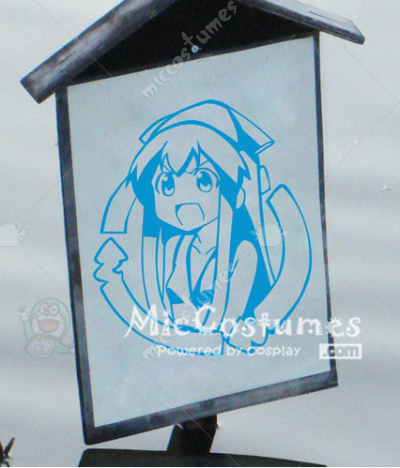 Squid Girl Wall Sticker