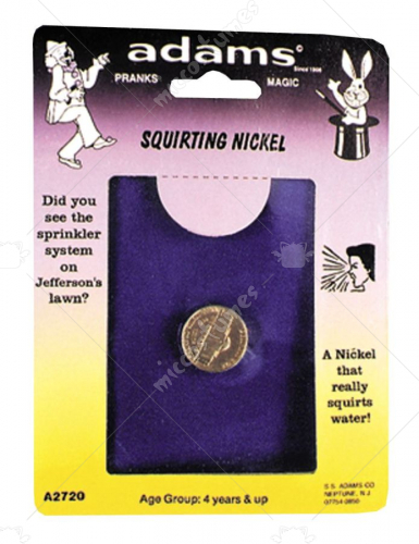 Squirting Nickel Rack Pack